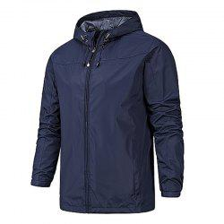 Men's Casual Windbreaker Jacket -