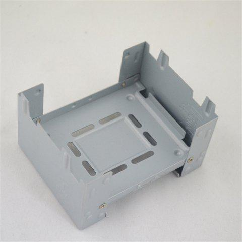 Best Folding Alcohol Outdoor Camping German Portable Travel Stove Galvanized Plate Wax Block Furnace