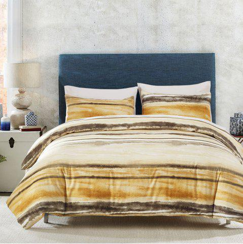 Outfits Printing Sanding Bedding Set in Vogue 06