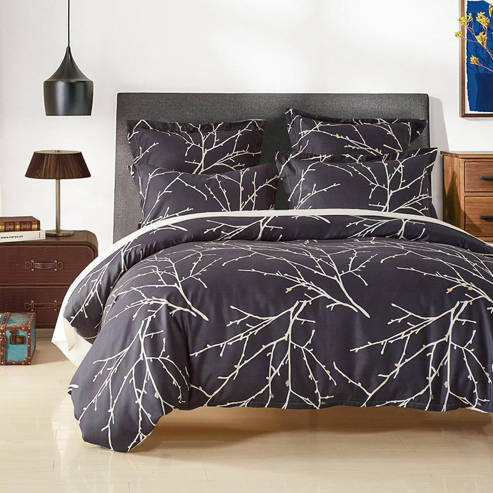 Fancy Printing Sanding Bedding Set in Vogue 12