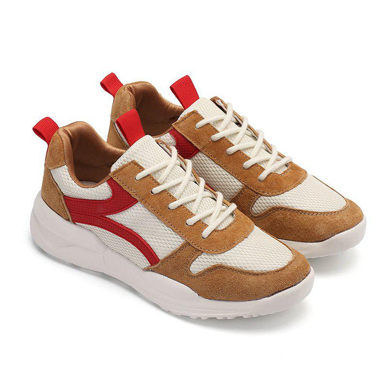 Trendy Fashion Sneaker Lace-Up Casual Shoes