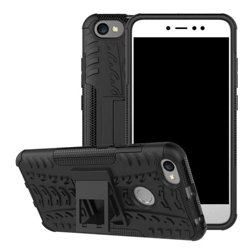Online for Xiaomi Redmi Note 5A Case Cover Hybrid Rugged Heavy Duty Hard with Kickstand
