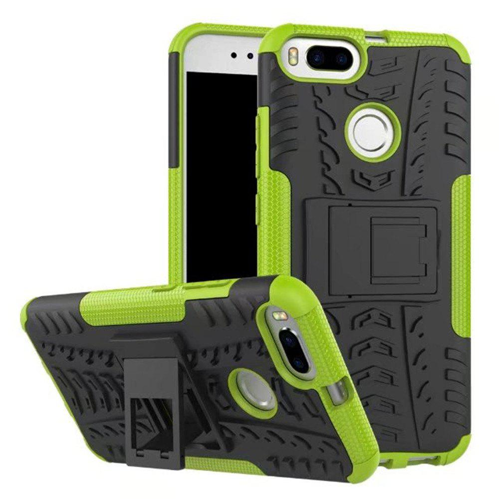 Outfits for Xiaomi 5X Case Cover Hybrid Rugged Heavy Duty Hard with Kickstand