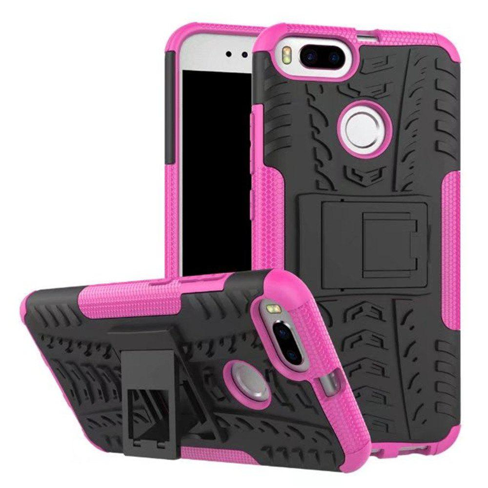 Fashion for Xiaomi 5X Case Cover Hybrid Rugged Heavy Duty Hard with Kickstand