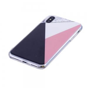 TPU Soft Case for iPhone X Bab Marble Style Back Cover -