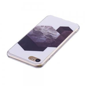 TPU Soft Case for iPhone 7 / 8 Geometric Marble Style Back Cover -