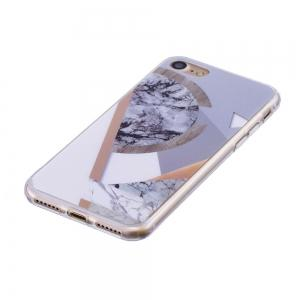 TPU Soft Case for iPhone 7 / 8 Joining Marble Style Back Cover -