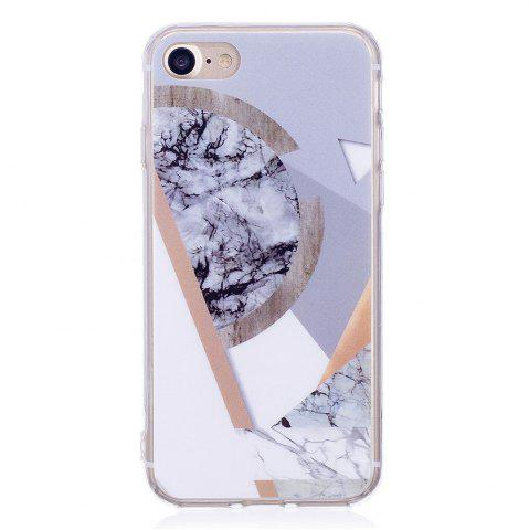 Online TPU Soft Case for iPhone 7 / 8 Joining Marble Style Back Cover