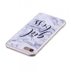 TPU Soft Case for iPhone 7 / 8 Marble Style Back Cover -