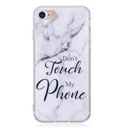 TPU Soft Case for iPhone 7 / 8 My Phone Marble Style Back Cover -
