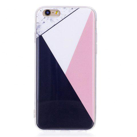 Unique TPU Soft Case for iPhone 6 / 6s Bab Marble Style Back Cover