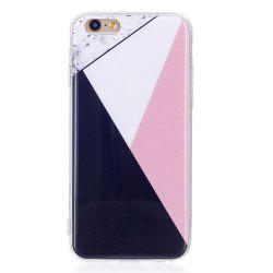 TPU Soft Case for iPhone 6 / 6s Bab Marble Style Back Cover -