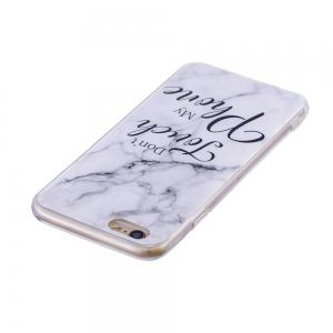 TPU Soft Case for iPhone 6 / 6s My Phone Marble Style Back Cover -