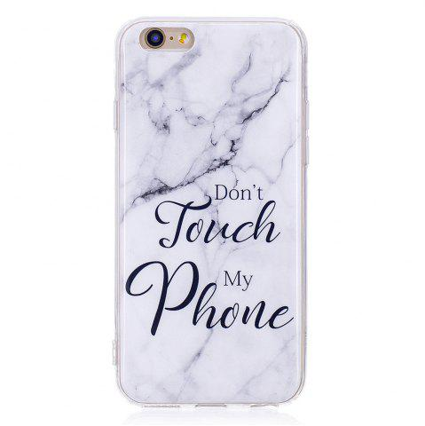 Affordable TPU Soft Case for iPhone 6 / 6s My Phone Marble Style Back Cover