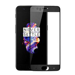 Oneplus 5 Screen Protector Full Coverage Anti Scratch and Fingerprint Bubble-free 3D Curved Protection -