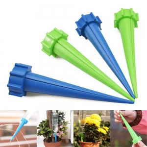 High-end 4pcs Automatic Watering Irrigation Spike Garden Plant Flower Drip Sprinkler Water -