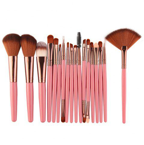 Online Cosmetic Fan-shaped Makeup Brush Suit