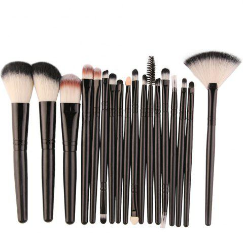 Discount Cosmetic Fan-shaped Makeup Brush Suit