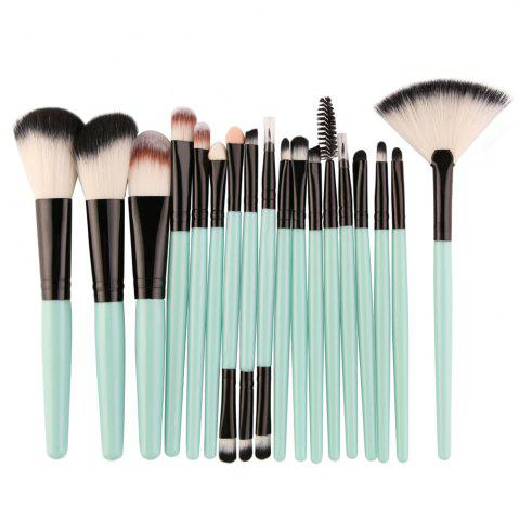 Buy Cosmetic Fan-shaped Makeup Brush Suit