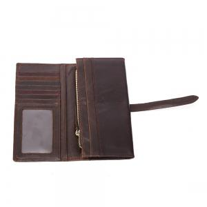 Leather Men's Long Wallet -