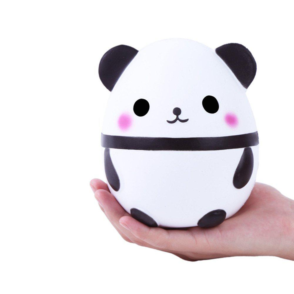 White Cute Panda Kawaii Cream Scented Squishies Very Slow Rising Kids Toys Doll Gift Fun ...