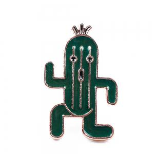 Cute Lapel Pin Enamel Ice Cream Cactus Brooch Plant Set Jewelry Brooches Clip Scarf Women and Female Jacket Gift -