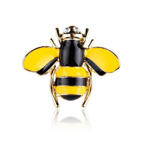 Outfits 10 Designs New Honeybee with Crystal Design Brooches Lovely Bee Insect Pins for Women Jewelry New Year Gift