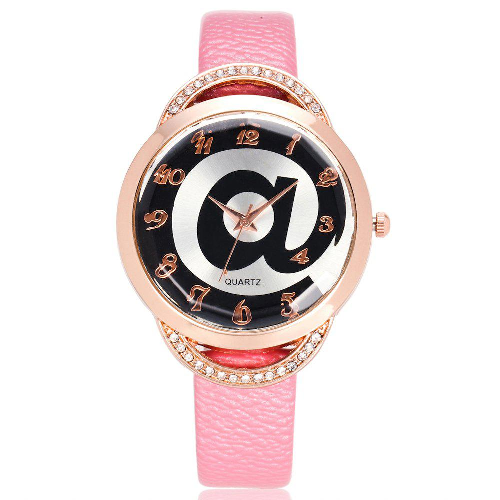Buy REEBONZ Fashion Lady Diamond Personality @ Dial quartz Watch