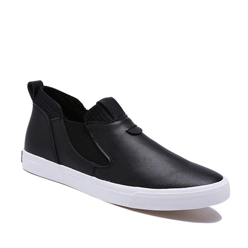 Unique Men Lightweight PU Casual All Match Shoes