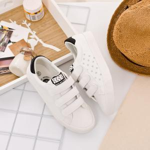 Femmes Sneakers Mode Simple Blanc Chaussures de loisirs -