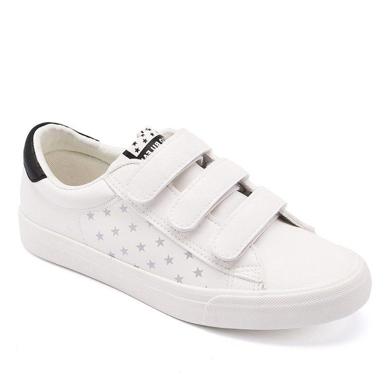 Chic Women Sneakers Fashion Simple White Leisure Shoes
