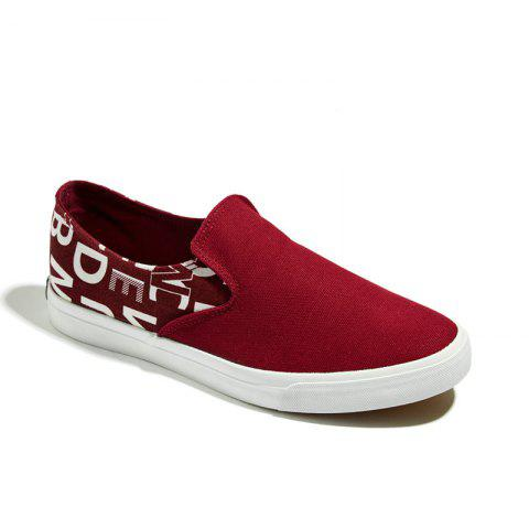 Buy Mens Canvas Casual Tide Students Pedal Breathable Shoes