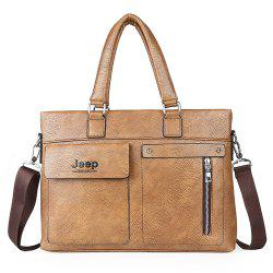 single shoulder slope across business briefcase -