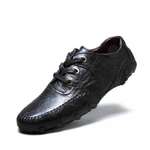 The New Leather Octopus Lace Business Casual Shoes -