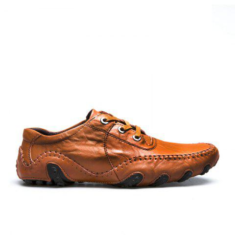 Affordable The New Leather Octopus Lace Business Casual Shoes