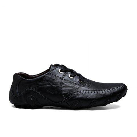 Buy The New Leather Octopus Lace Business Casual Shoes