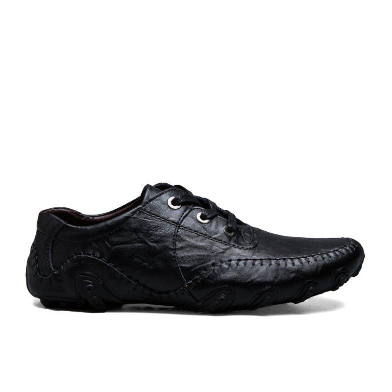 Fashion The New Leather Octopus Lace Business Casual Shoes