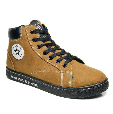 Store Ankel Boots High Top Sneakers Casual Lacing All Match Simple Shoes