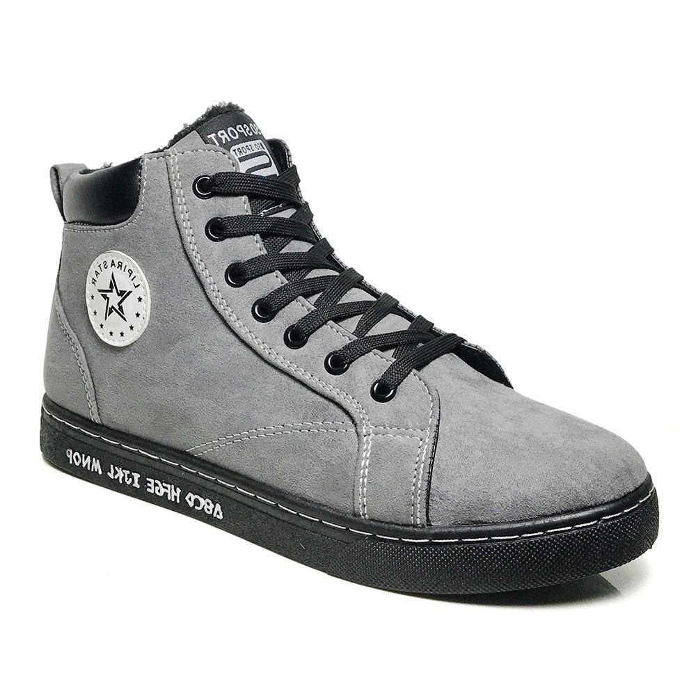 Unique Ankel Boots High Top Sneakers Casual Lacing All Match Simple Shoes