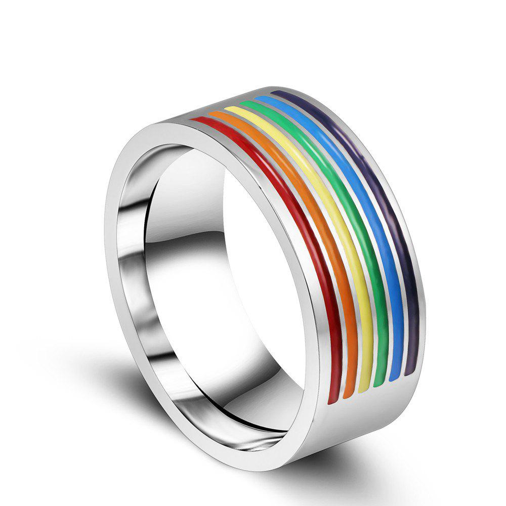 Gay Lala Six Color Titanium Steel Half