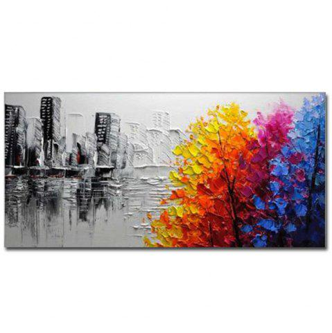 Shops Hand Painted Modern Abstract Landscape OiL Painting on Canvas Livng Room Home Wall Decor No Framed