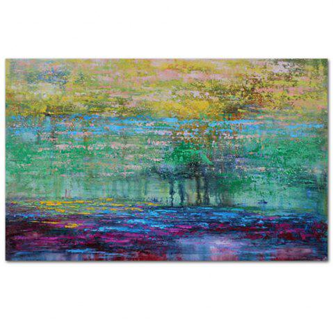 Sale High Quality Hand Painted Abstract Acrylic Paint Oil Painting Canvas Art Frameless