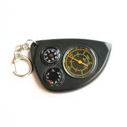 Multi-Function Military Map Rangefinders Compass Outdoor Hiking Climbing Sport Accessory -