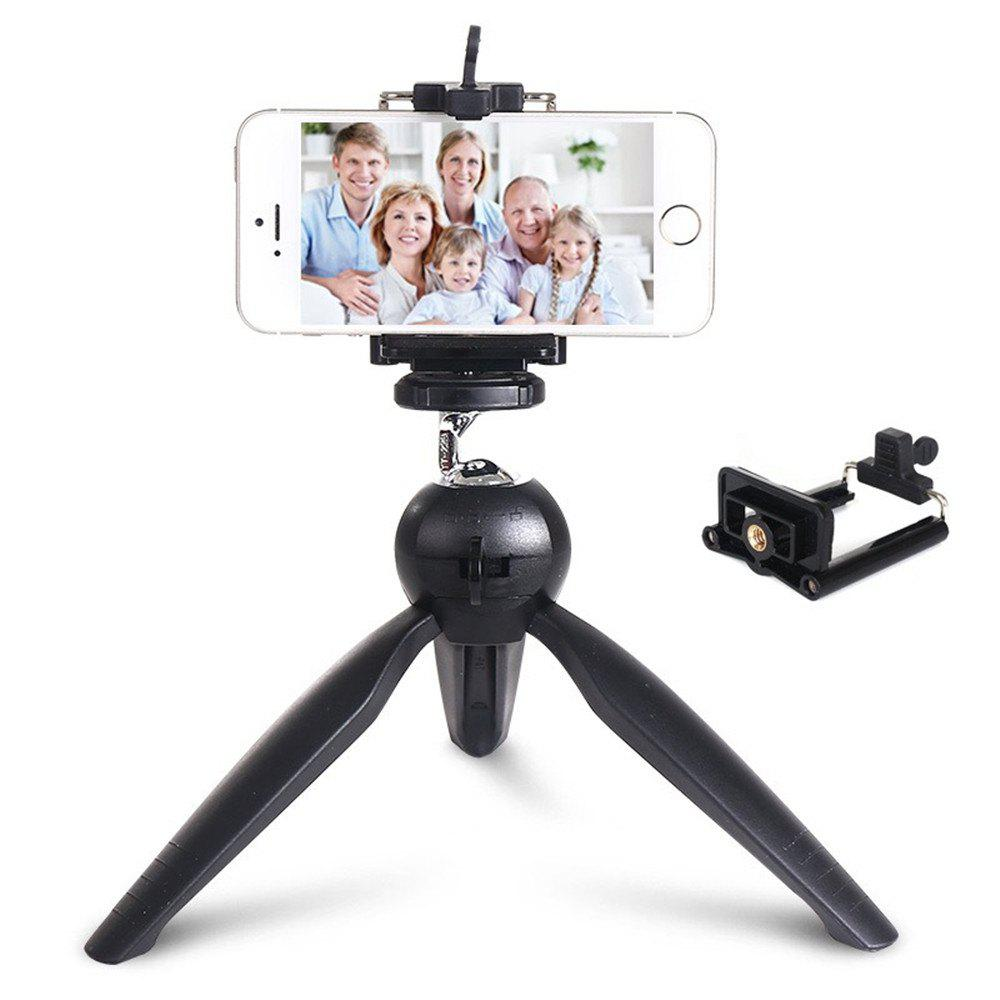 Shops Premium Mini Tripod with Phone Mount Table Top Stand for Gopro Smartphones Compact Cameras and DSLRs