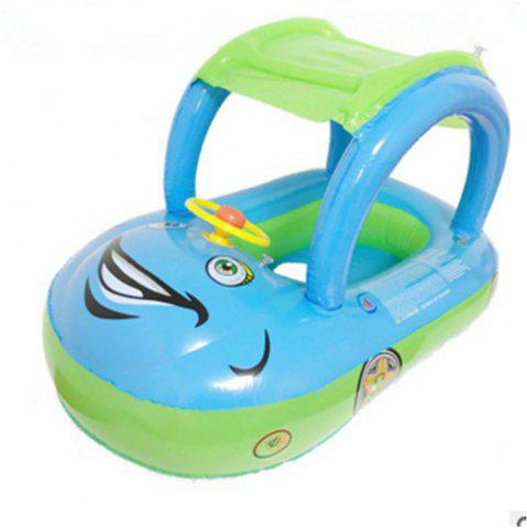 Outfit Children Inflatable Swimming Ring Car Model Water Toys