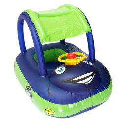 Children Inflatable Swimming Ring Car Model Water Toys -