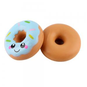 Jumbo Colorful Donuts Soft Squishy Slow Rising Squeeze Kids Toy Gift -