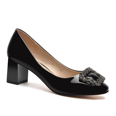 Outfits Spring New Square-Toed Women'S Shoes with High Heels and Pumps