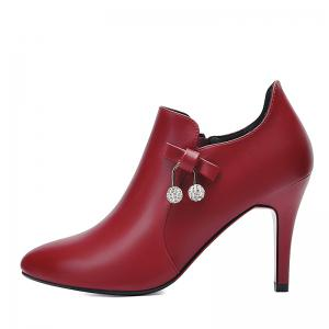 New British Style Shoes with High Heels -