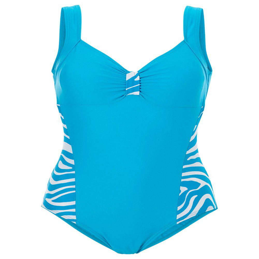 Unique Zebra Striped Swimsuit For Women